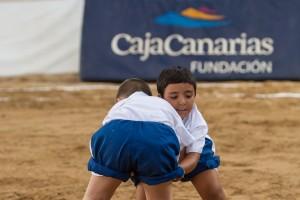 Clausura del Sexto Campus de Lucha Canaria de Cajacanarias. Terrero  Municipal de Lucha de Arafo © Aarón S. Ramos/Cajacanarias