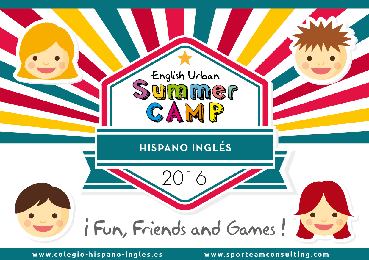 English Urban Summer Camp Hispano Inglés 2016 (inscripción online)