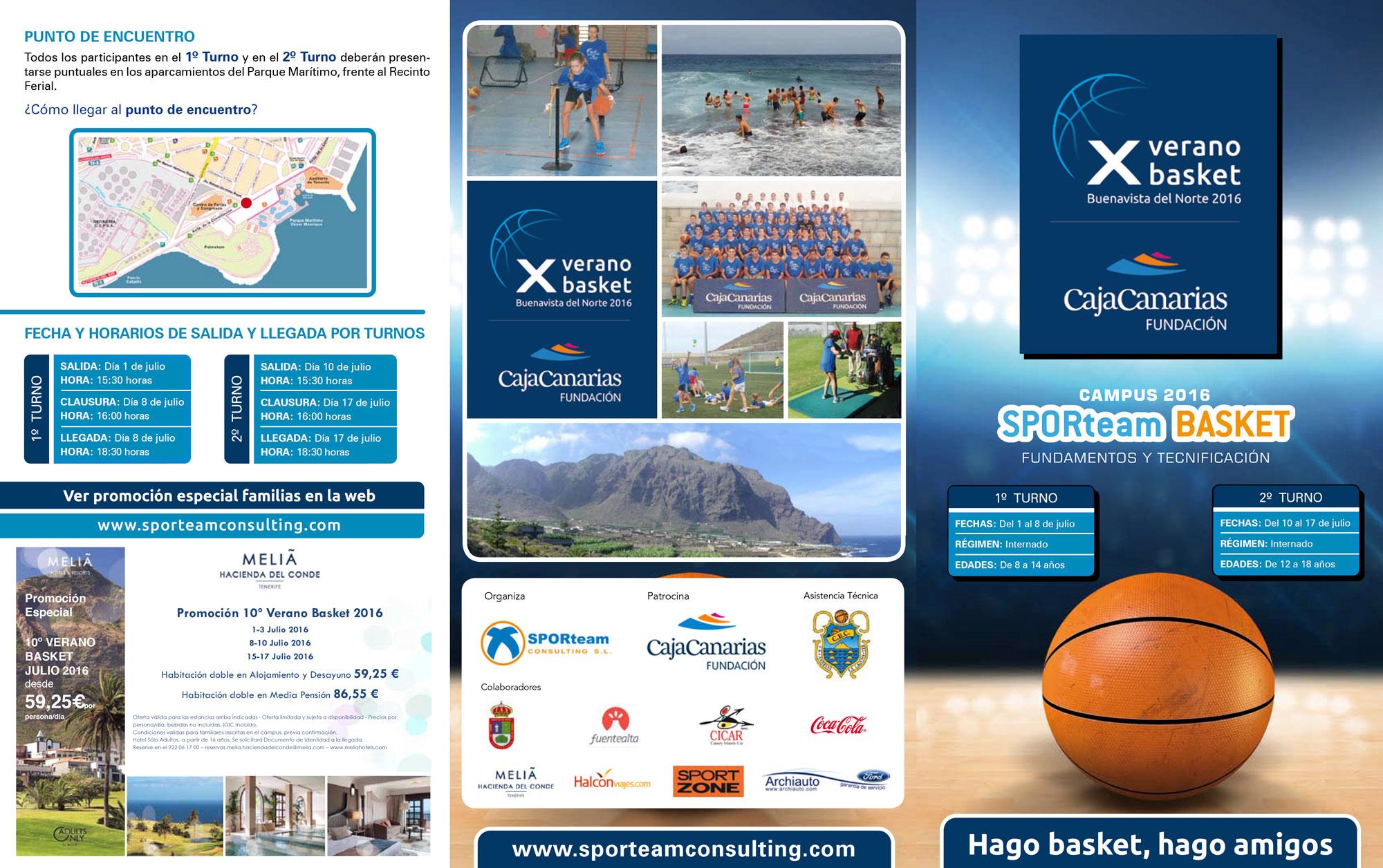 X Verano Basket Buenavista del Norte 2016 (inscripción online)